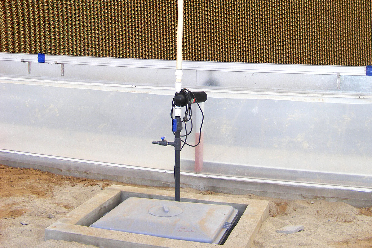 Cooling system for greenhouses